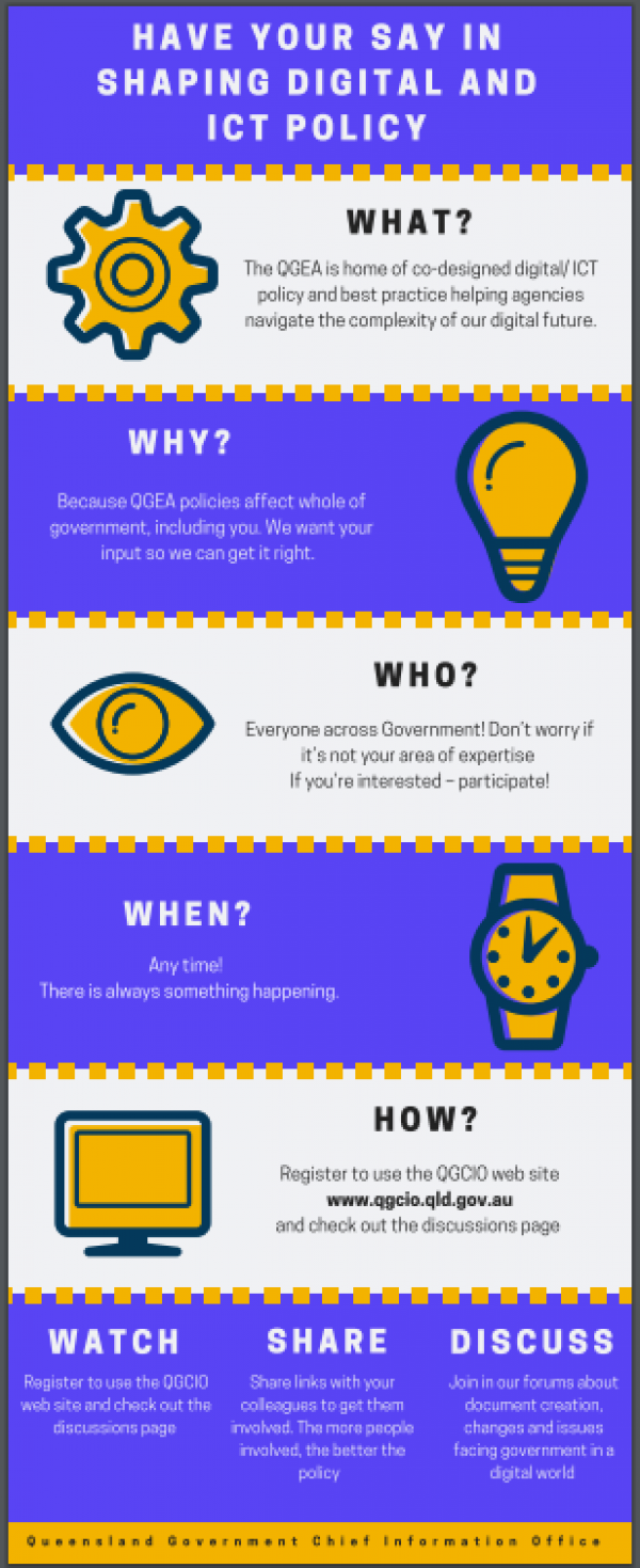 Printable introduction to the QGEA bookmark